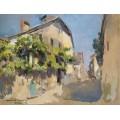 Вид в  Ивуаре, 1928 - Коровин, Константин Алексеевич