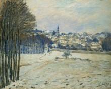Снег в Марли-Ле-Руа - Сислей, Альфред