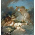 Спящие Амуры (Спящая любовь) - Буше, Франсуа