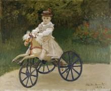 Жан Моне на своей лошадке - Моне, Клод