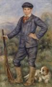 Жан Ренуар в образе охотника - Ренуар, Пьер Огюст