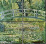 Пруд с водяными лилиями, 1899 - Моне, Клод