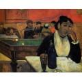 В кафе,  мадам Жинуа, 1888 - Гоген, Поль