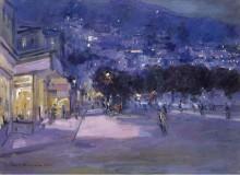 Вид Монако, 1922 - Коровин, Константин Алексеевич