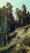 Из леса с грибами, 1883 - Шишкин, Иван Иванович