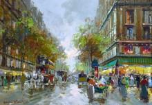 Парижская улица - Бланшар, Антуан