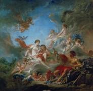 Вулкан, вручающий Венере оружие для Энея - Буше, Франсуа