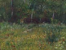 Парк в Аньер-сюр-Сен весной (Park at Asnieres in Spring), 1887 - Гог, Винсент ван