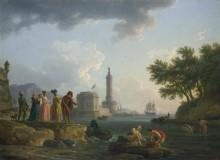 Морской берег - Верне, Клод Жозеф