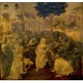 Поклонение волхвов - Винчи, Леонардо да