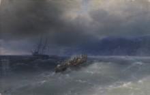 Шторм в Черном море - Айвазовский, Иван Константинович