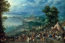 Великодушие Сципиона - Брейгель, Ян (Старший)