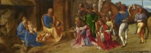 Поклонение волхвов - Джорджоне (Джорджо Барбарелли да Кастельфранко)