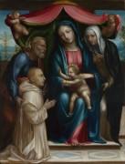 Мадонна с младенцем и святыми - Содом, Ил