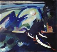 Озеро, 1910 - Кандинский, Василий Васильевич