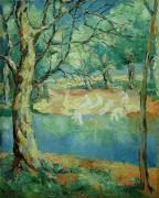Река в лесу - Малевич, Казимир