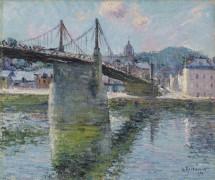 Подвесной мост в Эльбёфе - Луазо, Гюстав