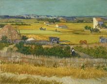 Сбор урожая - Гог, Винсент ван