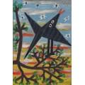 Птица на дереве - Пикассо, Пабло