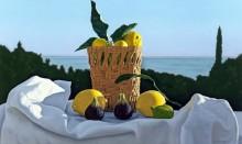 Натюрморт с лимонами и фигами - Лигар, Давид