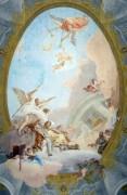 Аллегория Достоинства, сопровождаемого Благородством и Добродетелью - Тьеполо, Джованни Баттиста