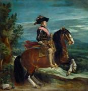 Конный портрет Филиппа IV - Веласкес, Диего