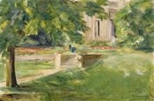 Дом с террасой, 1923 - Либерман, Макс