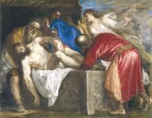 Положение Иисуса во гроб, 1559 - Тициан Вечеллио
