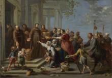 Святой Антоний из Падуи - Херп, Виллем ван (старший)