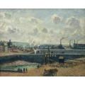 Дьепп, отлив, солнце, утро 1902 - Писсарро, Камиль
