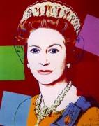 Правящие королевы, королева Елизавета II (Les Reines gouvernantes, Reine Elisabeth II), 1985 - Уорхол, Энди