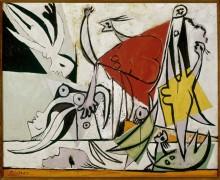 Женщины и дети на берегу моря - Пикассо, Пабло
