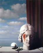 Лицо в тени - Магритт, Рене