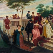 Сценка в Венеции - Зацка, Ханс