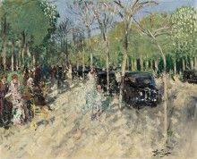 Весна в лесу (Spring at the Forest), 1929 - Монтезин, Пьер Эжен