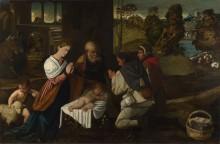 Поклонение пастухов - Азола, Бернардино да