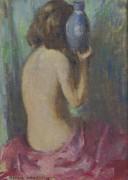 Сидящая обнаженная, 1928 - Грейсен, Эдмунд Уильям
