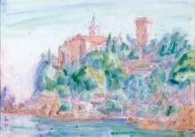 Собор, Портофино, 1920 -  Рассел, Джон Питер
