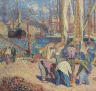 Порт в Марселе - Мартен, Анри Жан Гийом