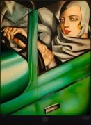 Тамара Лемпицка. Автопортрет в зеленом Бугатти