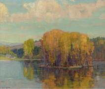 Осень в Вермонте, 1943-49 -  Бюхр, Карл Альберт