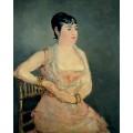 Дама в розовом - Мане, Эдуард