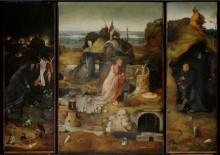 Триптих святых отшельников - Босх, Иероним (Ерун Антонисон ван Акен)