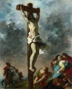 Распятие Христа - Делакруа, Эжен