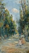 Фигуры гуляющих в парке, 1888 - Ринк, Пауль