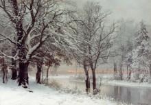 Зимний вечер - Лундби, Андерс Андерсен