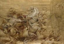 Львиная охота -  Рубенс, Питер Пауль