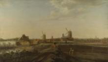 Пейзаж видом на Дордрехт - Дриленбург, Виллем ван