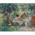 В саду - д'Эспанья, Жорж