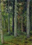 Лес, 1897 - Шишкин, Иван Иванович